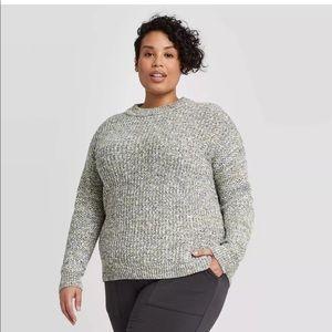 Ava & Viv multicolor pullover sweater. NEW!